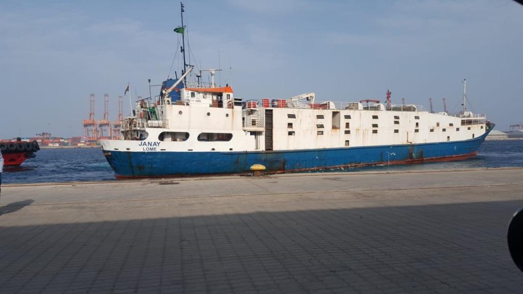 MV JANAY